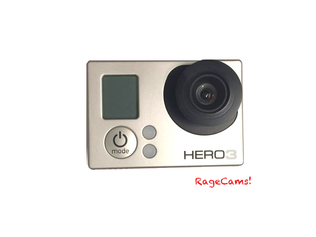 4.1mm flat lens for gopro hero3/3+Hero4 Camera Line 5mp