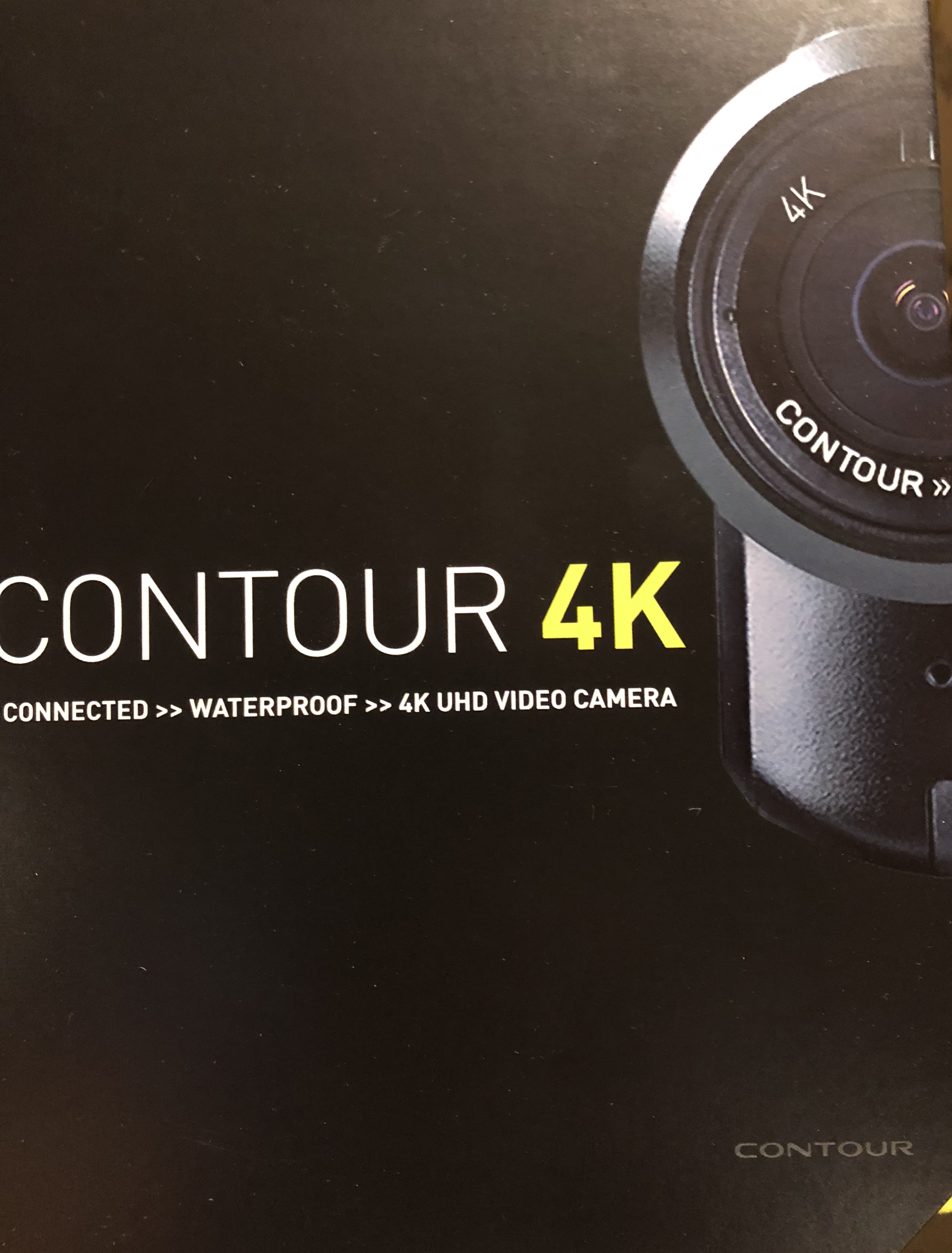 Contour HD 4K Helmet Camera Action Cam W/Lens Modification Opt