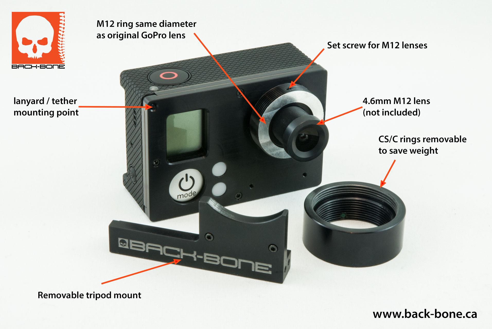 Gopro Hd Hero3 Black Camera Video Lcd Touch Bacpac Kit Tft