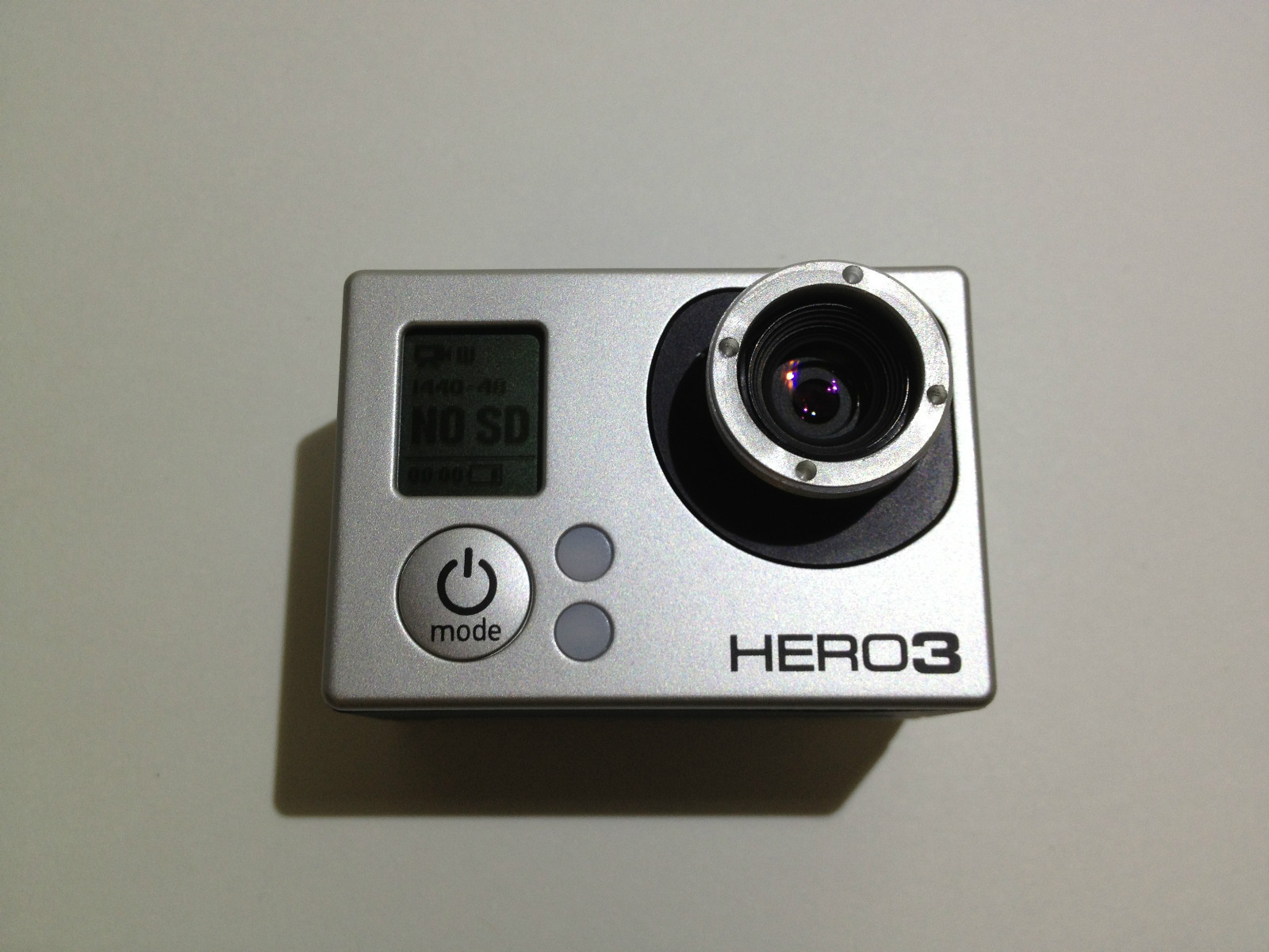 Gopro Lenses for Hero2  HD Wearable Video Custom Mods By RageCams