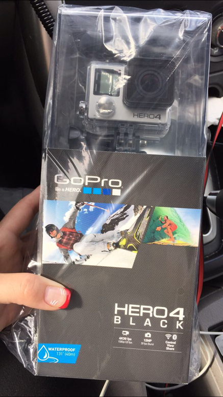 GOPRO HERO4 BLACK MODIFIED NIGHT VISION IR FULL SPECTRUM