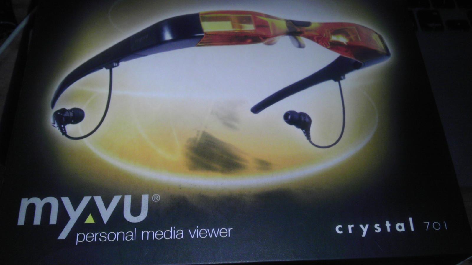 Amazon. Com: myvu crystal personal media viewer, made for ipod.
